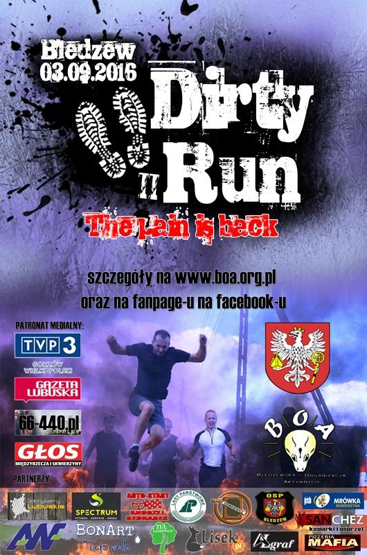Dirty Run w Bledzewie