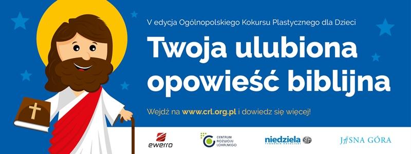 Ilustracja do informacji: V edycja Ogólnopolskiego Konkursu Plastycznego dla Dzieci