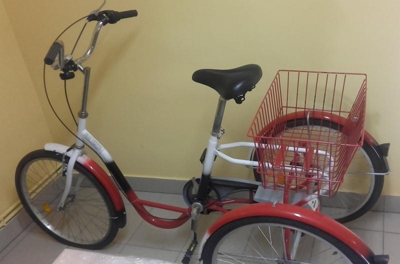 Ilustracja do informacji: OPS wypożyczy rower dla osoby niepełnosprawnej