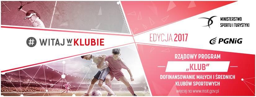 """Ilustracja do informacji: Program """"Klub"""" - wsparcie dla klubów sportowych"""