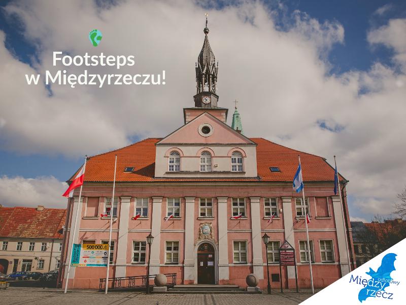 Ilustracja do informacji: Aplikacja turystyczna Footsteps już w Międzyrzeczu!
