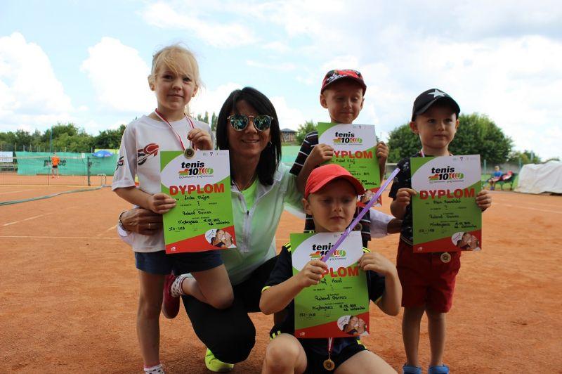 Ilustracja do informacji: Uwierzyć, aby wygrać!!! Roland Garros w Międzyrzeczu