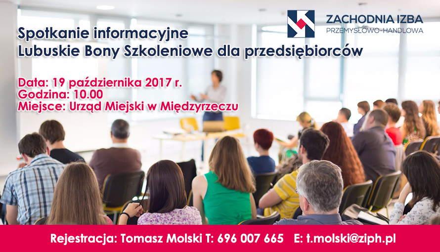 Ilustracja do informacji: Spotkanie informacyjne - Lubuskie Bony Szkoleniowe dla Przedsiębiorców