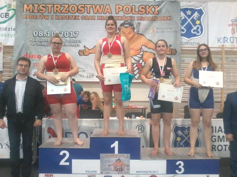 Ilustracja do informacji: Mistrzostwa Europy w Sumo – Mistrzyni Europy w Kaławie!