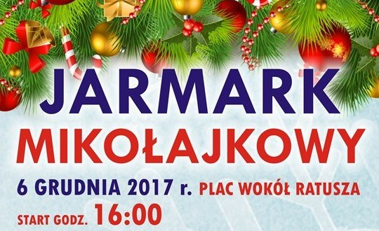 Ilustracja do informacji: Burmistrz Międzyrzecza Remigiusz Lorenz zaprasza na Jarmark Mikołajkowy