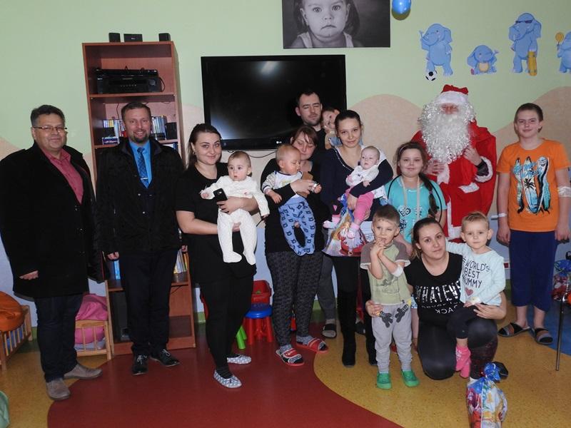 Ilustracja do informacji: Świąteczne spotkanie burmistrza z dziećmi