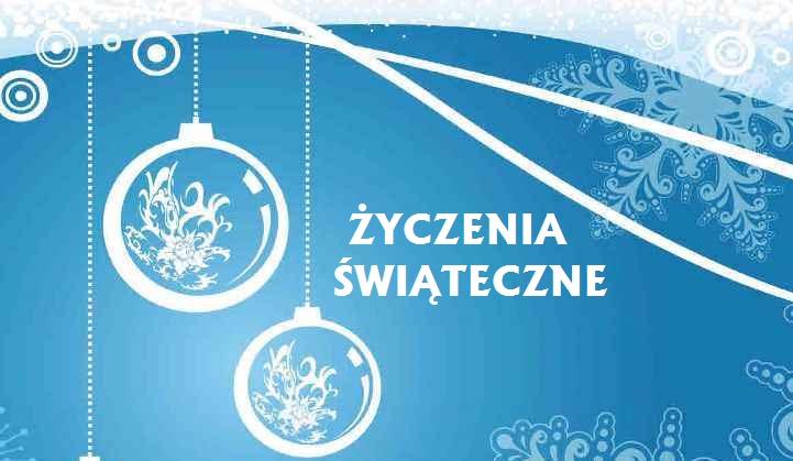 Ilustracja do informacji: Świąteczne życzenia składa burmistrz Remigiusz Lorenz i przewodnicząca Rady Miejskiej Maria Kijak
