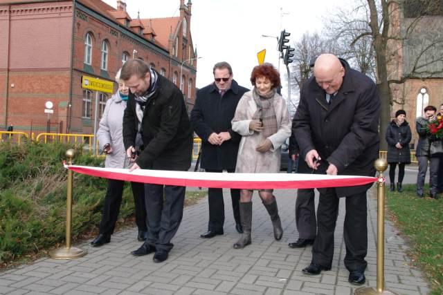 Ilustracja do informacji: Oficjalne zakończenie IV etapu przebudowy ul. Waszkiewicza i Świerczewskiego