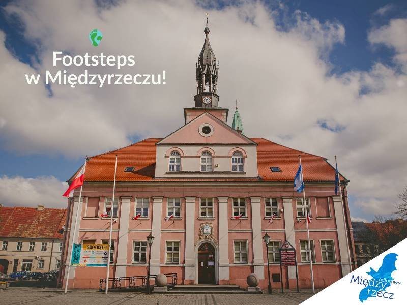 Ilustracja do informacji: Zwiedzaj naszą gminę z aplikacją Footsteps