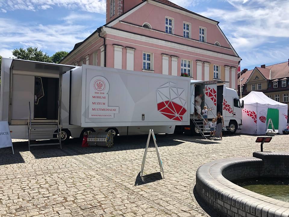 Ilustracja do informacji: Weekend z Mobilnym Muzeum Multimedialnym w Międzyrzeczu