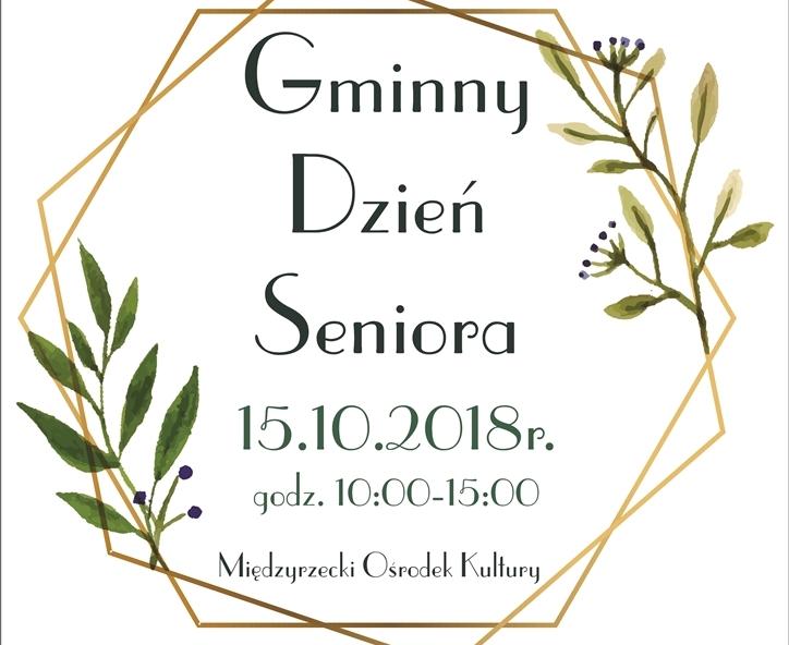 Ilustracja do informacji: Zapraszamy na Gminny Dzień Seniora