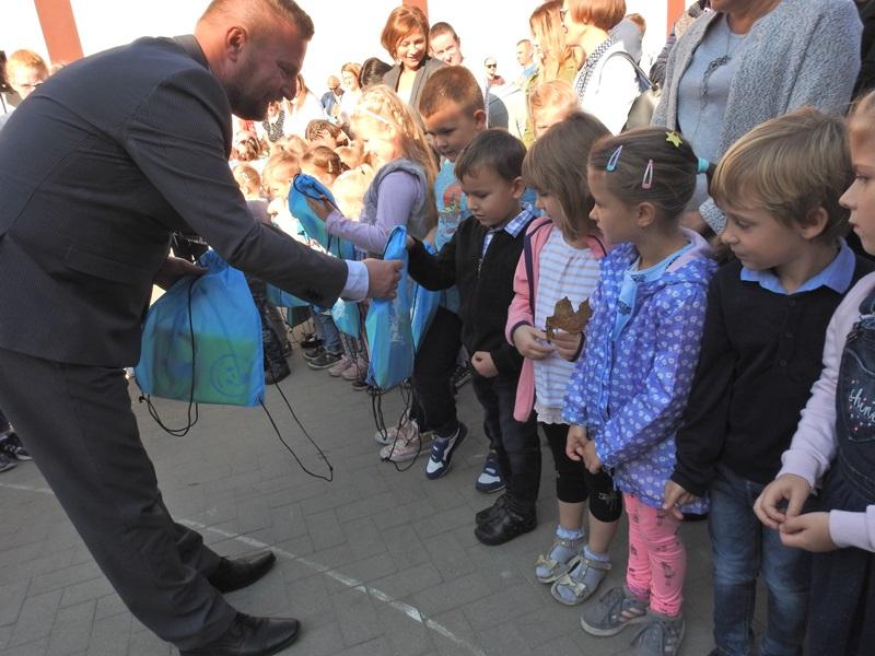 Ilustracja do informacji: Oficjalne otwarcie Oddziału Przedszkolnego przy SP 3
