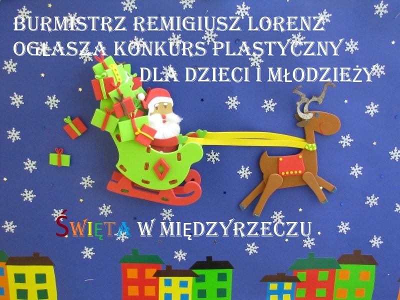 Ilustracja do informacji: Zachęcamy do wzięcia udziału w świątecznym konkursie