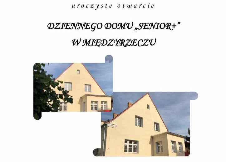 Ilustracja do informacji: Zapraszamy na otwarcie Dziennego Domu Senior +
