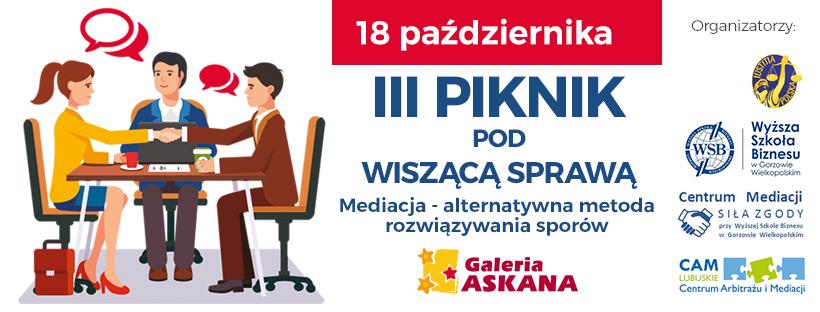 Ilustracja do informacji: III Piknik nad wiszącą sprawą w Galerii Askana