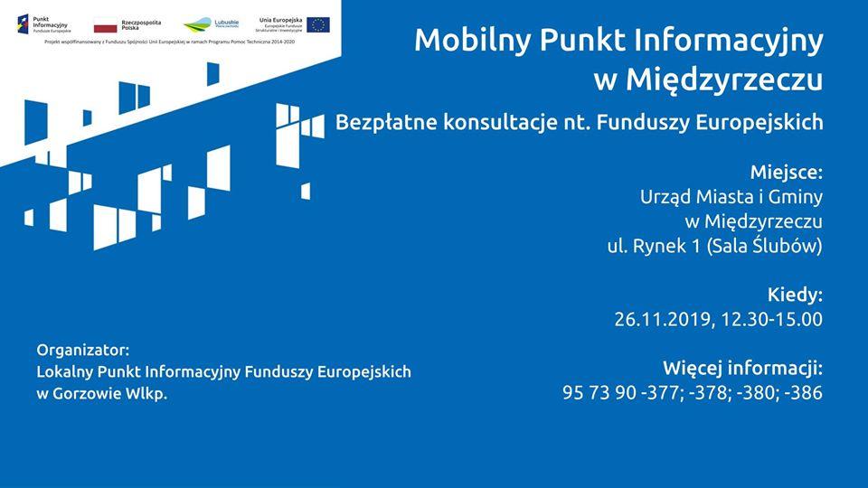 Ilustracja do informacji: Indywidualne, bezpłatne konsultacje na temat Funduszy Europejskich