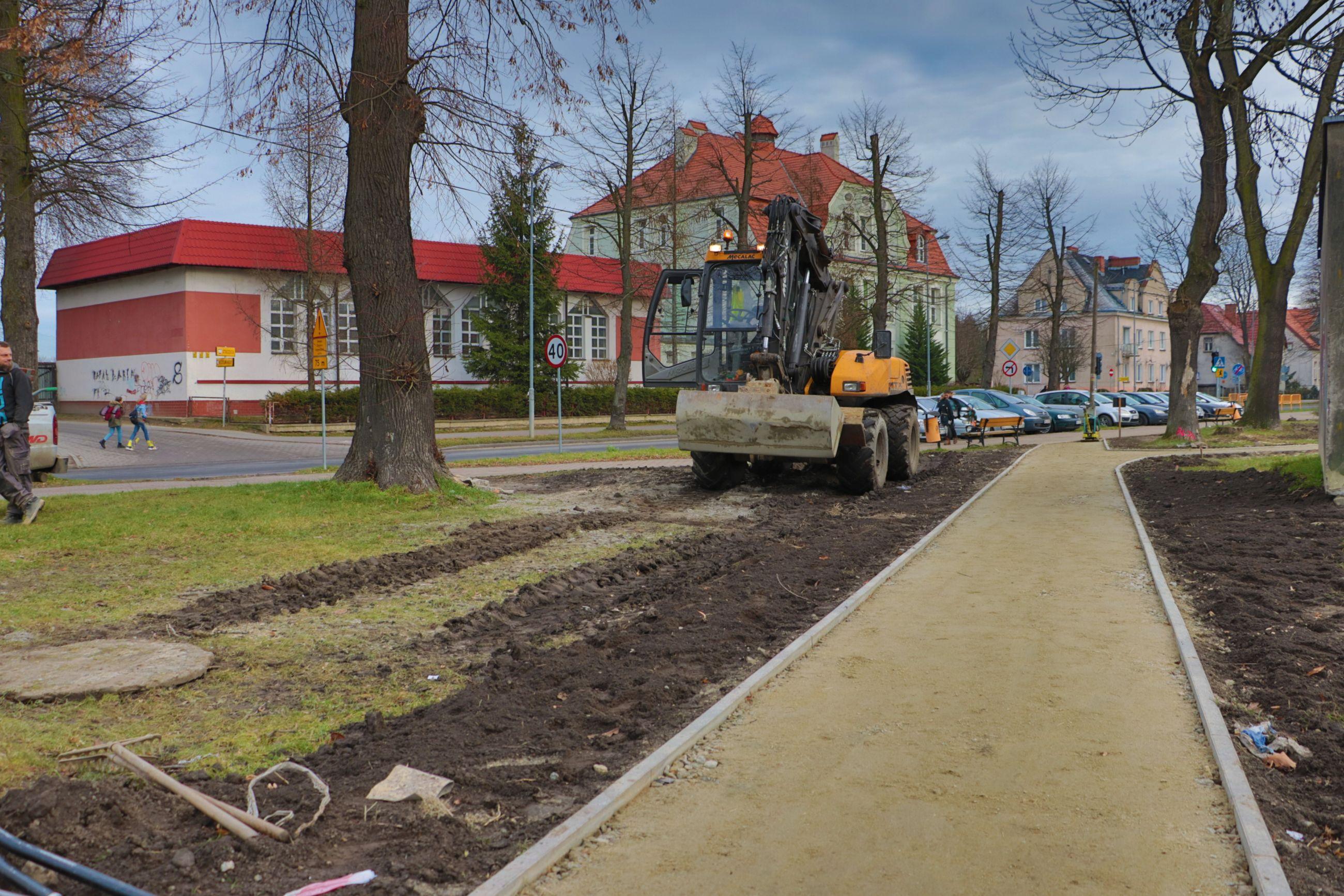 Ilustracja do informacji: Rewitalizacja zieleni i miejsc rekreacyjnych: Miasto zamienia się w ogród