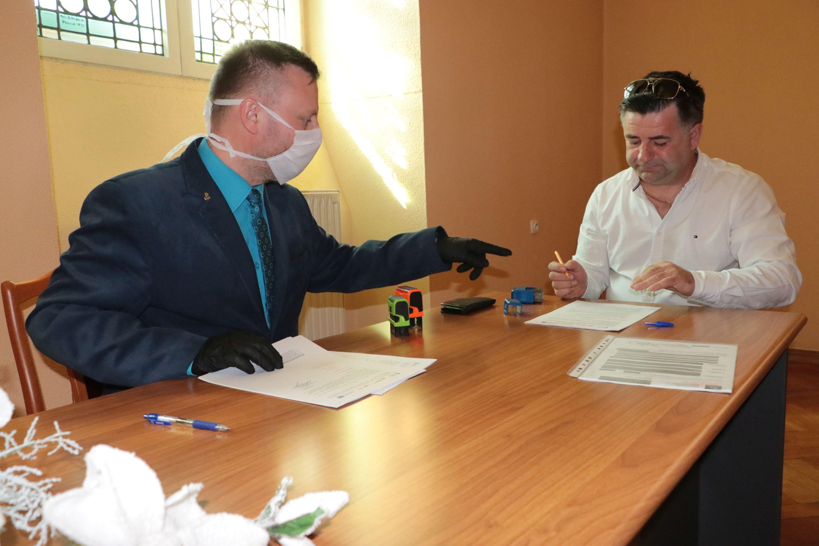 Ilustracja do informacji: Burmistrz podpisał umowę na budowę żłobka