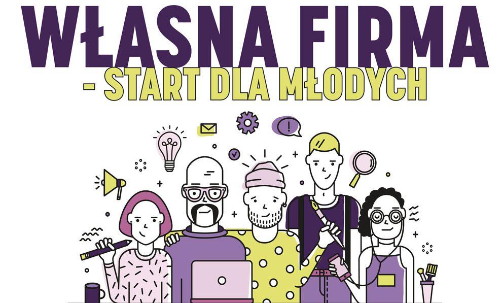 Ilustracja do informacji: Rekrutacja do projektu Własna firma-start dla młodych