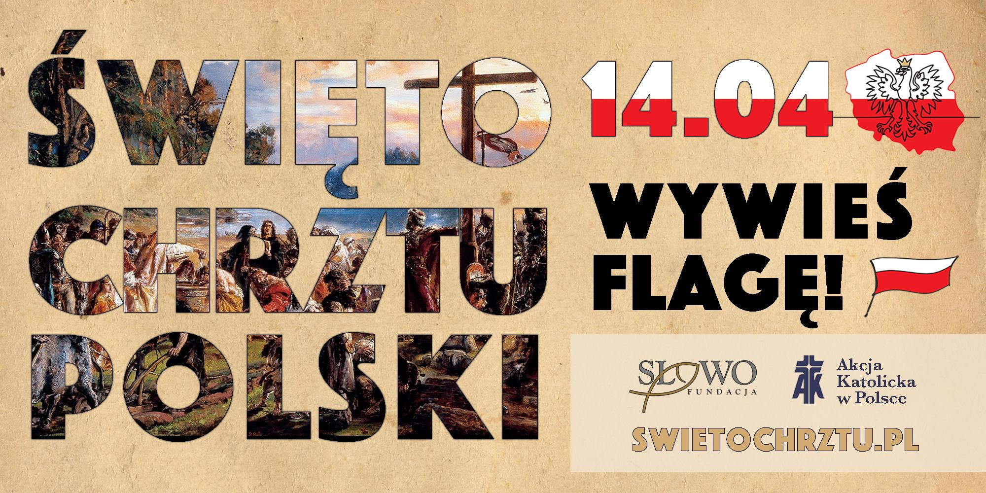 Ilustracja do informacji: Święto Chrztu Polski
