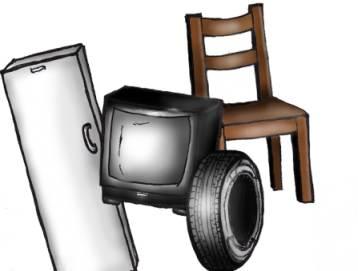 Ilustracja do informacji: Uwaga!!! Wywóz odpadów wielkogabarytowych