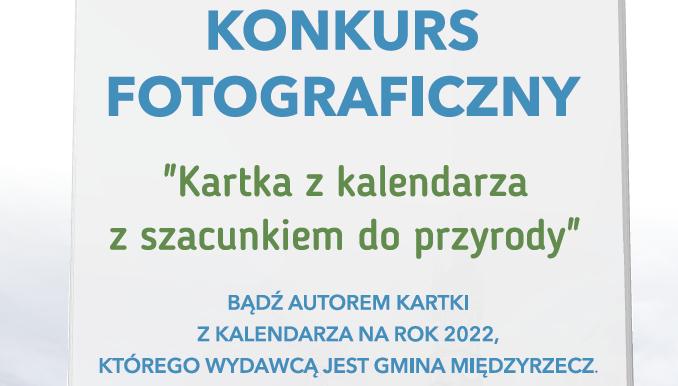 """Ilustracja do informacji: Konkurs fotograficzny """"Kartka z kalendarza z szacunkiem do przyrody"""""""