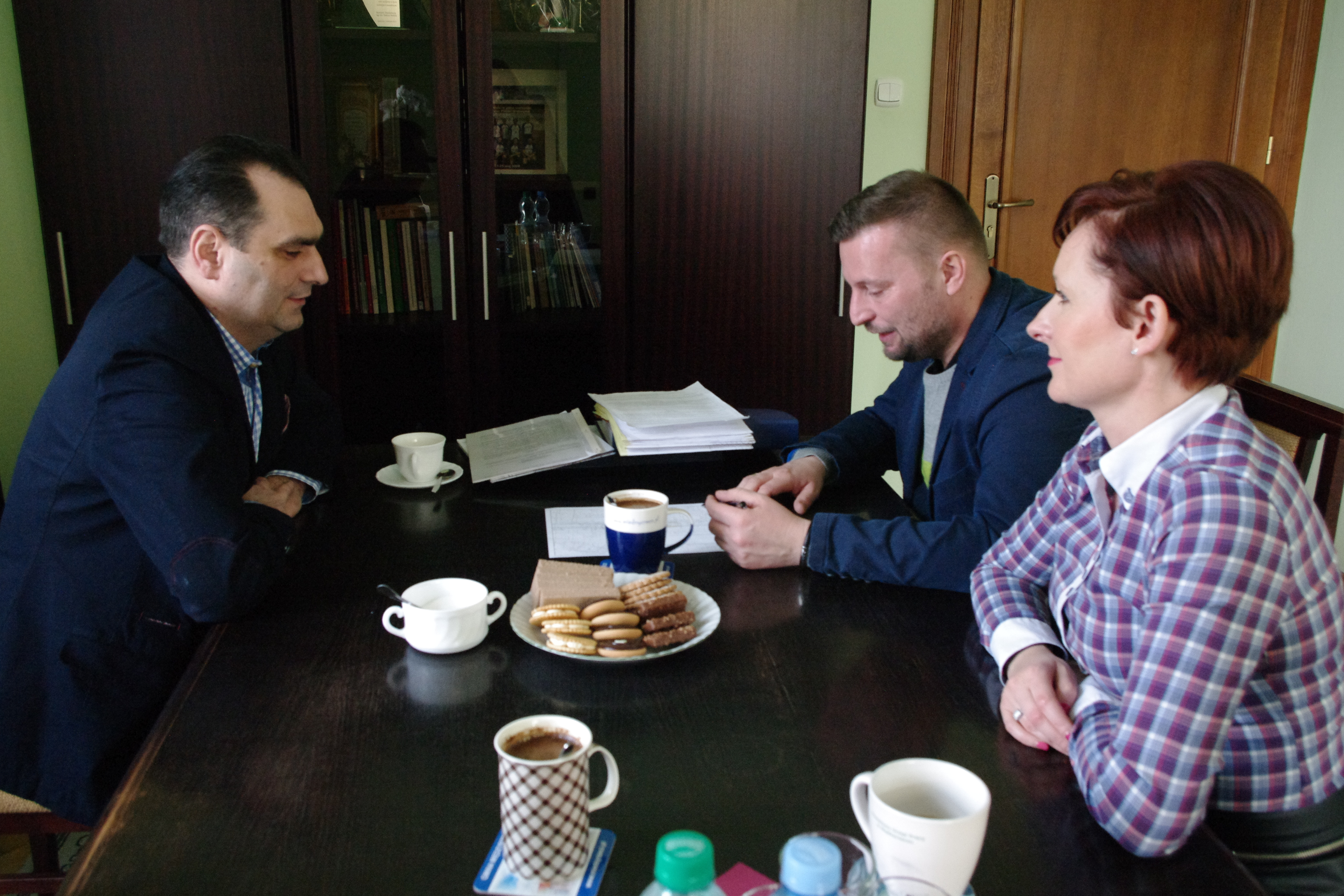 Ilustracja do informacji: Dzień z burmistrzem Międzyrzecza