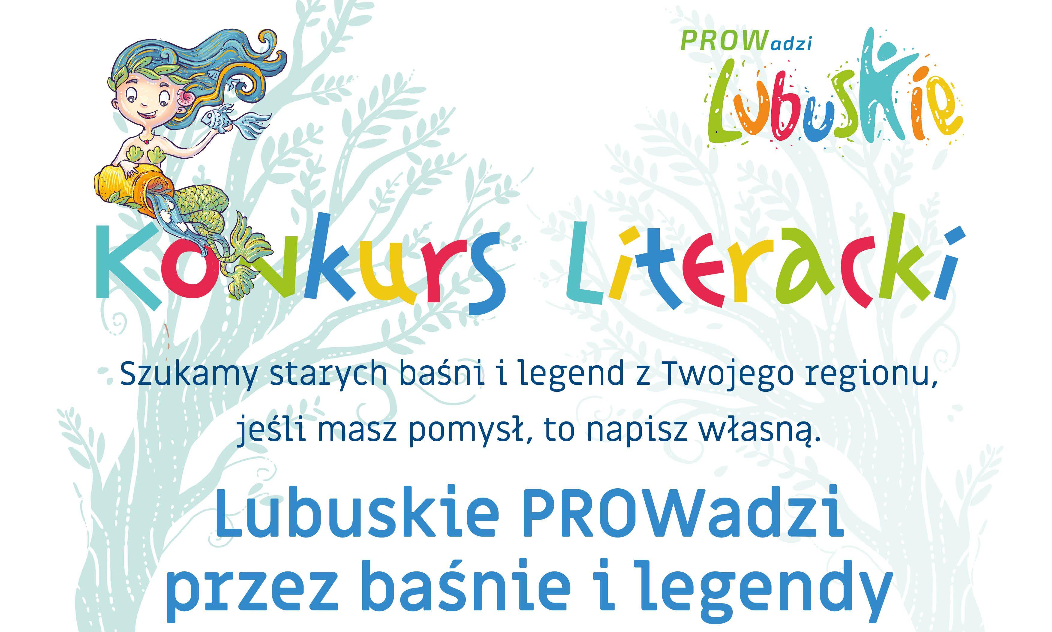 """Ilustracja do informacji: Konkurs """"Lubuskie PROWadzi przez baśnie i legendy"""""""