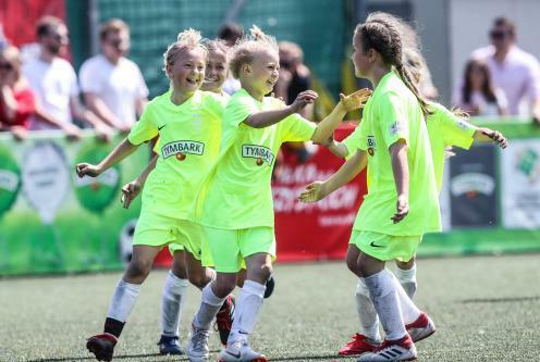 Ilustracja do informacji: Piłkarski turniej dla dzieci