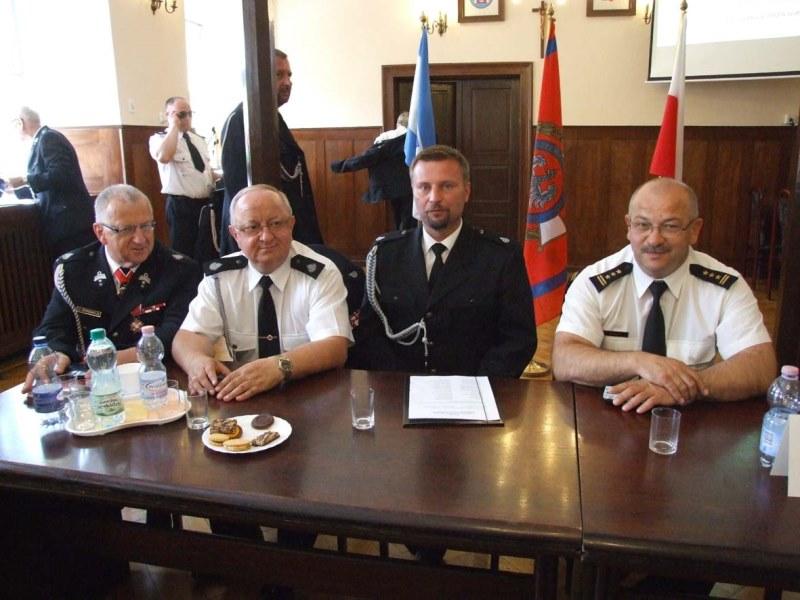 Ilustracja do informacji: Zjazd Oddziału Miejsko-Gminnego Związku Ochotniczych Straży Pożarnych RP