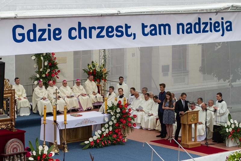 Ilustracja do informacji: Obchody 1050. rocznicy Chrztu Polski w Międzyrzeczu