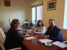 Miniatura zdjęcia: Spotkanie burmistrza Międzyrzecza z Członkiem Zarządu Województwa Lubuskiego Alicją Makarską