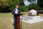 Miniatura zdjęcia: Odsłonięcie pomnika upamiętniającego cmentarz żydowski w Międzyrzeczu 3
