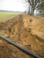 Miniatura zdjęcia: Budowa kanalizacji sanitarnej w miejscowościach Pieski – Kursko – Zamostowo – Gorzyca – etap II 1