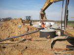 Miniatura zdjęcia: Budowa kanalizacji sanitarnej w miejscowościach Pieski – Kursko – Zamostowo – Gorzyca – etap II 5